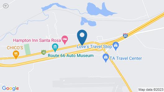 Comfort Inn City of Natural Lakes Map