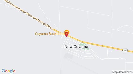 Cuyama Buckhorn Map