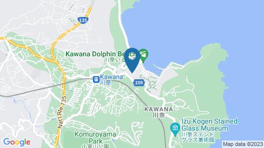 OYO Hotel Kawana Island Ito Map