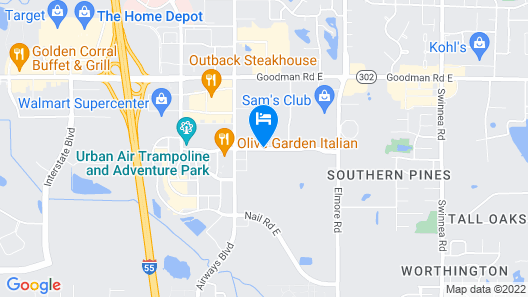 Holiday Inn Southaven Central - Memphis Map