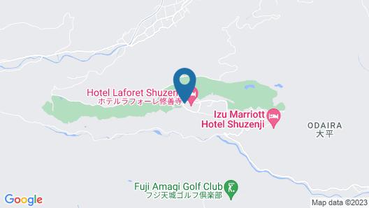 Hotel Laforet Shuzenji Map