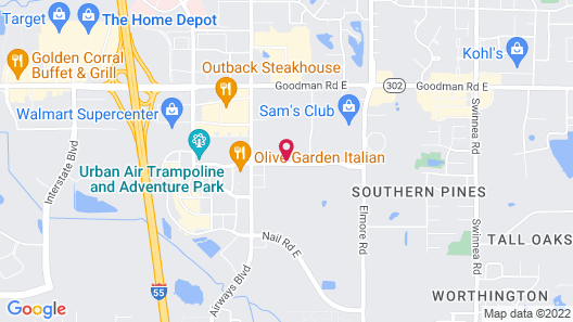 Holiday Inn Southaven Central - Memphis, an IHG Hotel Map