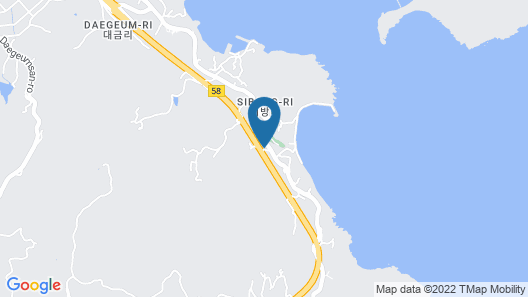 Geoje Amor Family Pension Map