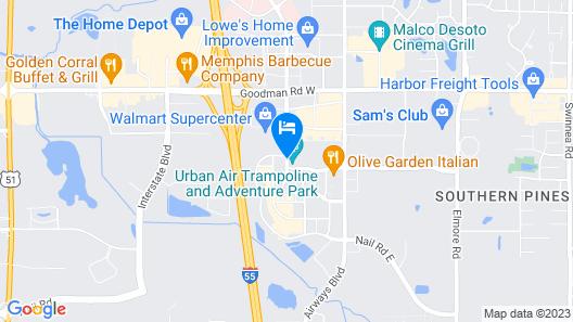 Home2 Suites by Hilton Memphis - Southaven, MS Map