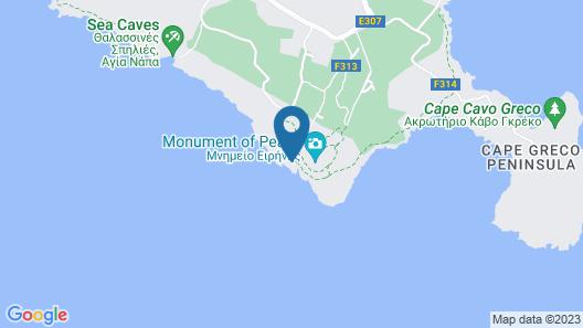 Protaras Villa Araella Map