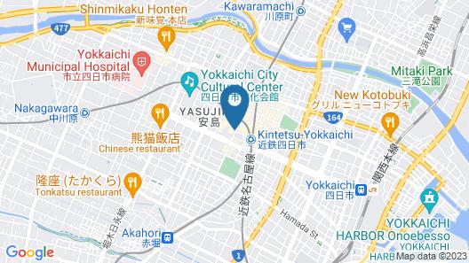 Miyako Hotel Yokkaichi Map