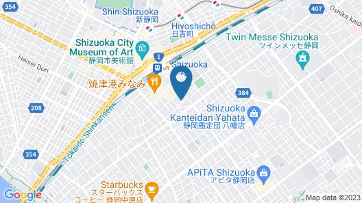 Hotel Seishokan Map