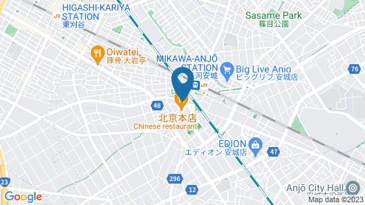 Dormy Inn Express Mikawa Anjo Natural Hot Spring Map