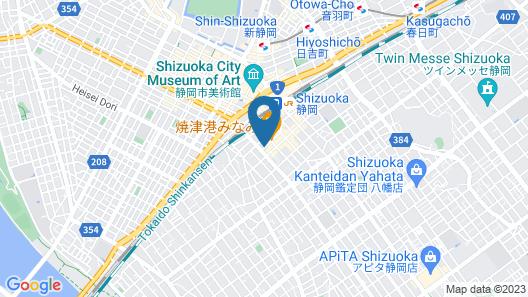 Toyoko Inn Shizuoka-eki Minami-guchi Map