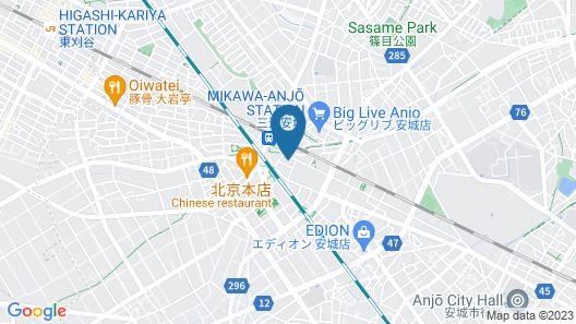 Hotel Trend MikawaAnjo Map