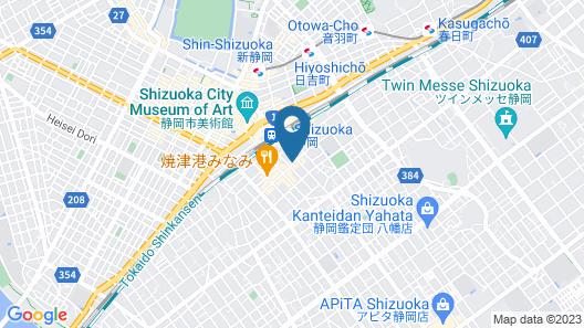 SHIZUTETSU HOTEL PREZIO Shizuoka-Ekinan Map