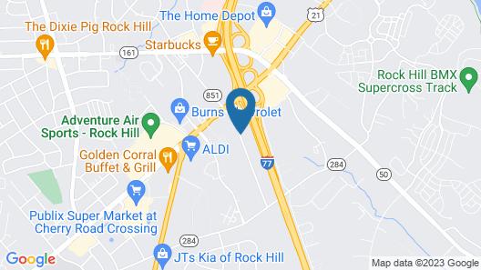 Howard Johnson by Wyndham Rock Hill Map