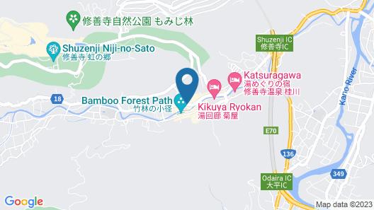Arai Ryokan Map