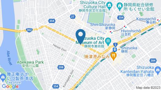Hotel Oak Shizuoka Map