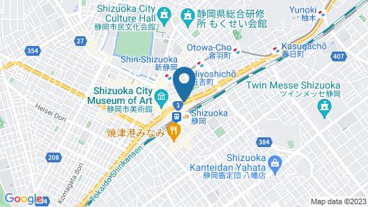 Hotel Associa Shizuoka Map