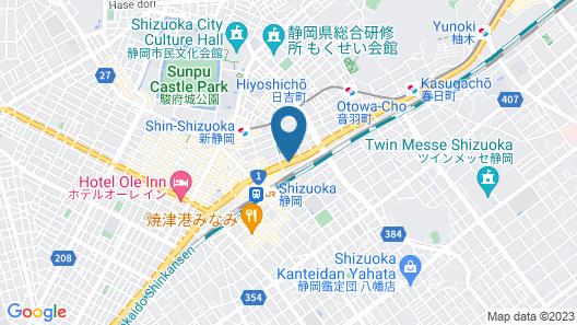 Kuretake Inn Premium Shizuokaekimae Map