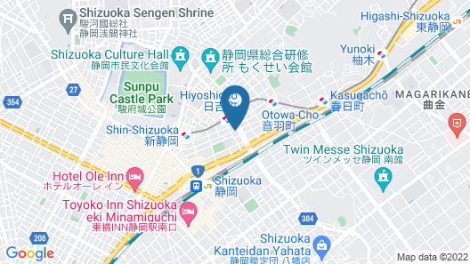 Smile Hotel Shizuoka - formerly Abant Inn Shizuoka Map