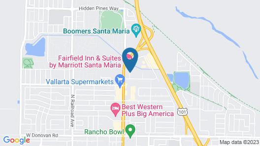 Fairfield Inn & Suites by Marriott Santa Maria Map