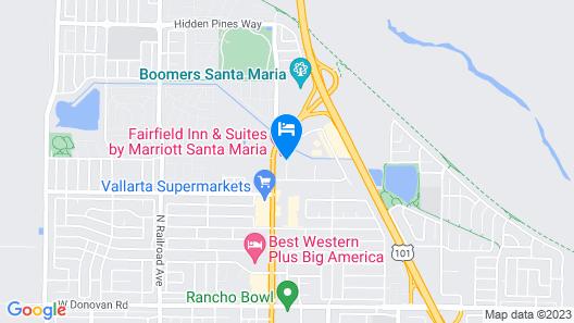 Candlewood Suites Santa Maria, an IHG Hotel Map
