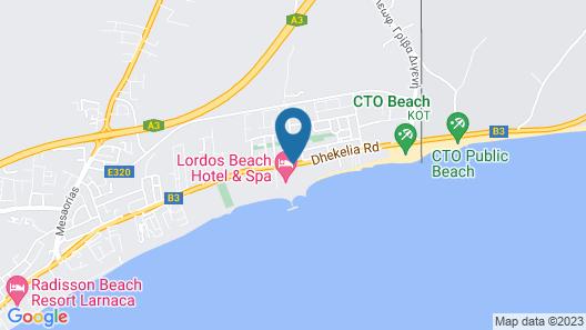 Sentido Sandy Beach Map