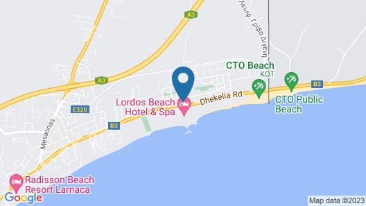 Tsialis Hotel Apartments  Map