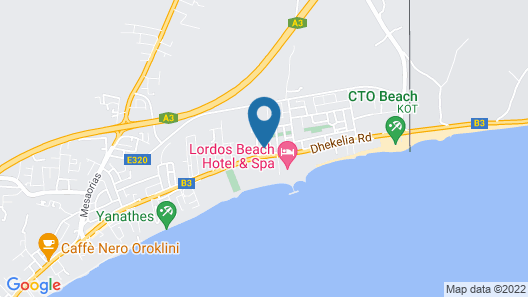 BeachFront Apartments Map