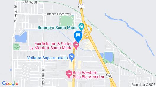 Holiday Inn Hotel and Suites Santa Maria, an IHG Hotel Map