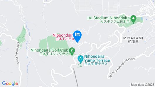 Nippondaira Hotel Map