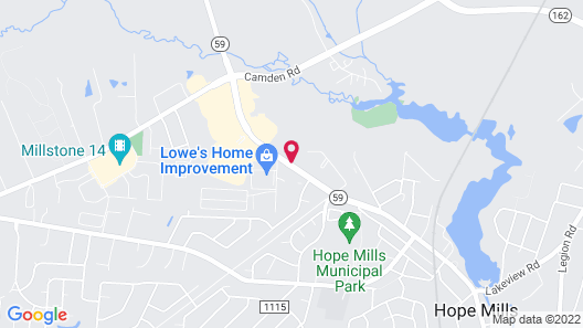 Holiday Inn Express Hotel & Suites Hope Mills, an IHG Hotel Map