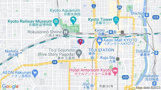 Kyotoya Tsuki no Yu KUKAI Map