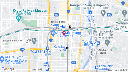 Sakura Terrace The Gallery Map