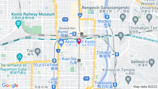 Hotel Vischio Kyoto by GRANVIA  Map