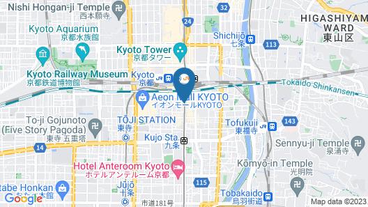 Hotel Vischio Kyoto by GRANVIA Map