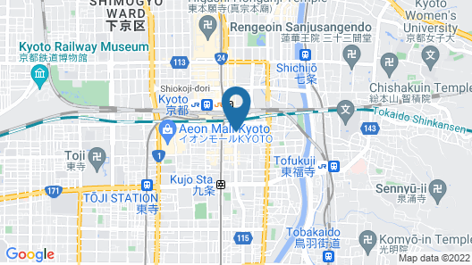 Hotel Keihan Kyoto GRANDE Map