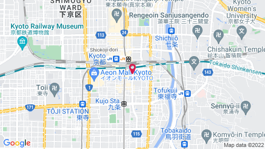 HOTEL ELCIENT KYOTO Map