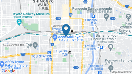 ibis Styles Kyoto Station Map
