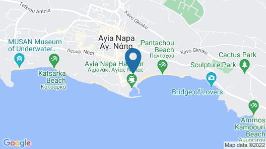 Stamatia Hotel Map