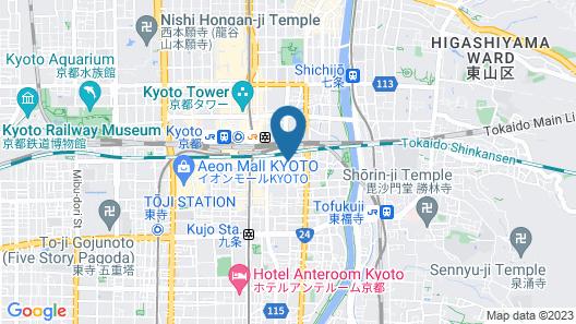 Daiwa Royal Hotel Grande Kyoto Map