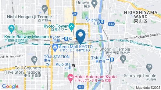 MIMARU KYOTO STATION Map