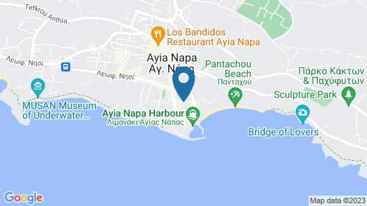 Nestor Hotel Map