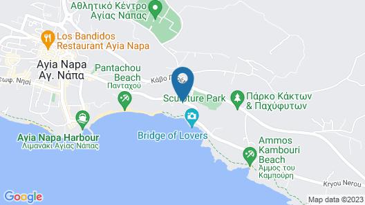 Tofinis Hotel Map