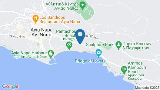 Alion Beach Hotel Map