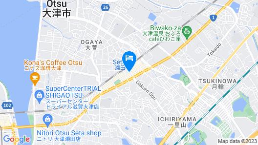 Smile Hotel Otsu Seta Map