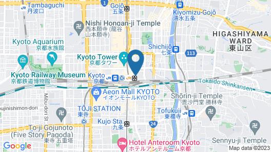 Kyoto Century Hotel Map