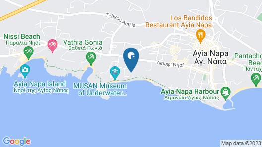 Panas Holiday Village Map