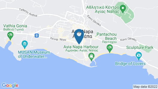 Tasia Maris Seasons Hotel - Adults Only Map