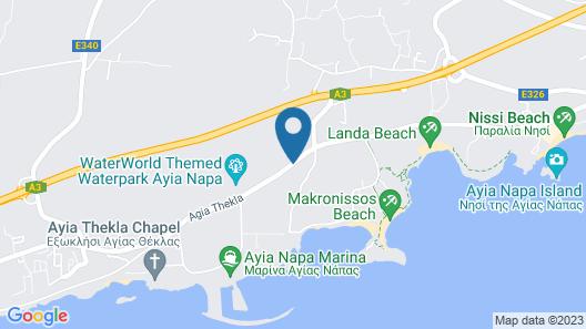Amethyst Napa Hotel & Spa Map