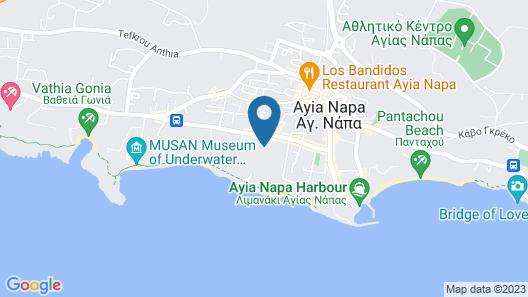 Panthea Holiday Village Water Park Resort Map