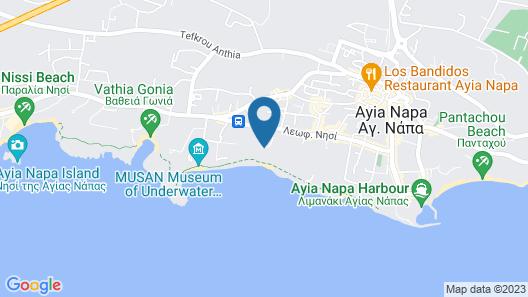 Royal 4 Bedroom Seafront Villa Map