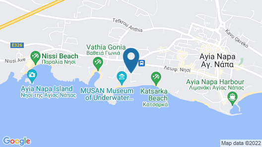 Satin Villas Map